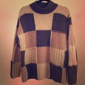 💗 J. Crew 100% wool Shetland sweater